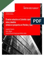 El Sector Extractivo en Colombia Oportunidades Retos y Desafios 2000 a 2010