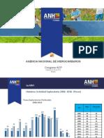 Agencia Nacional de Hidrocarburos Colombia Pozos 2006 - 2016