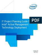 IT Project Planning Guide for Intel(R) AMT