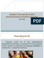 Ordinul nr.243-2012