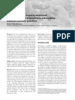 Ruiz Manteca - 2014 - La Evaluación de Impacto Ambiental y