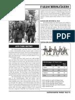 BGWWII FJ PzJg Section Sheet