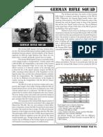 BGWWII German Rifle Squad