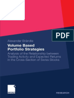 Volume Based Portfolio Strategies