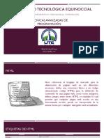 Tecnicas Avanzadas HTML