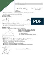 Devoir Maison Maths Quatrieme 7