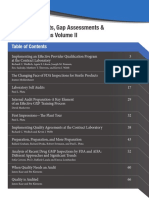 Conducting Audits Gap Assessments Volume II