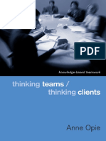 Thinking Teams, Thinking Clients