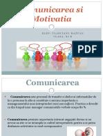 Comunicarea Si Motivatia