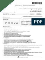 Trtsp Tecnico Judiciario Administrativa Fcc 2014