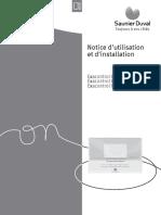 Saunier Duval Notice Utilisateur Et Installateur Exacontrol e7c e7rc e7rcsh 0020166990 00 012013 293987