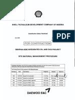 Site Material Management Procedure