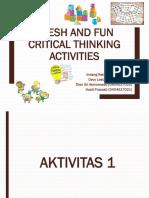 KEL 1 Critical Thinking