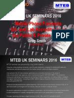 Mteb Uk Seminars 2016 II v03- Qa Lab Accreditation
