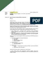 Draft Surat Edaran WOHD 2018 Jalur Mandiri