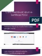 Tutorial Pembuatan Akun PDGI (1)
