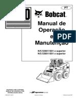 Manual de Operação Bobcat S160