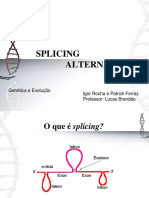Splicing Alternativo Final Dos Finais