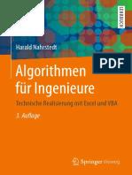 Algorithmen f r Ingenieure Technische Realisierung Mit Excel Und VBA