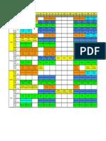 Final Examination (Fall Semester) - TimeTable