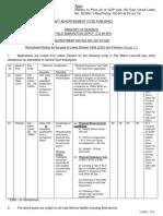 16 FAD Recruitment 2018 (Www.majhinaukri.in)