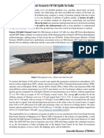 Recent Scenario of Oil Spills in India