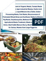 Biological Treatment of Organic Waste, Tomato Waste Water Treatment, Agro-Industrial Wastes