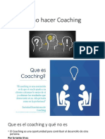 Como Hacer Coaching