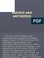 Introduction in surgery ASEPSIS AND ANTISEPSIS.ppt