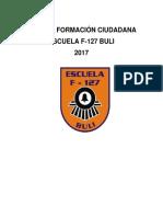 Plan Formación Ciudadana Escuela F- 127 Buli
