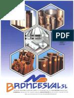 Catalogo de Productos Broncesval S L