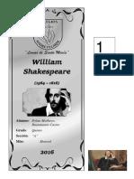 Triptico Shakespeare