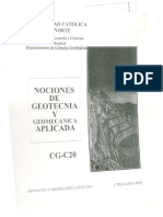 [Delgado, 1999] Nociones de Geotecnia y Geomecánica Aplicada