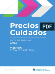 Precios Cuidados Región Amba - Mayo 2018