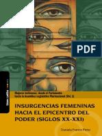 Mujeres Bolivianas Vol1 - Insurgencias Femeninas Hacia El Epicentro Del Poder