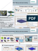 Siemens Multiscale modelling of textile composite using WISETEX