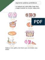 segmentar polisilabos