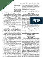 Bebidas Nao Alcoolicas - Legislacao Portuguesa - 2010/09 - DL nº 101 - QUALI.PT