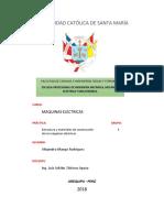 P2_Estructura y Materiales de Construccion de Las Maquinas Electricas