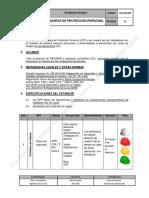 Iod-sas-004 Estandar de Epp