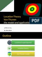 Teori Lokasi Von Thunen