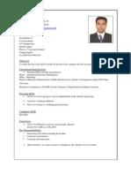 Suri CV With Photo MBA
