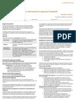 Conditiile Contractului de Asigurare Prudent30