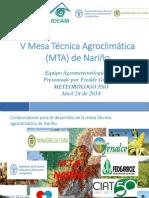 Presentación v MTA Nariño AMJ ASO 20180424