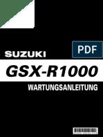 Manual de Servico GSX R1000 (2003)