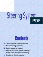 Steering Gears and Power Steering