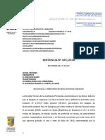 Sentencia de la Audiencia de Zaragoza que rebaja la pena al violador de una menor por estar borracho
