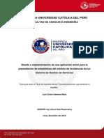 Gamarra Luis Diseño Aplicacion Movil Modulo Incidencias Sistema Gestion Servicios