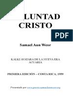 1959 Samael Aun Weor Voluntad Cristo