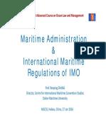 01-27International Maritime Regulations of IMO Renping Zhang